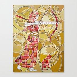 Pop Artemis Canvas Print