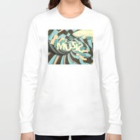 music notes Long Sleeve T-shirts featuring Music by Phil Perkins