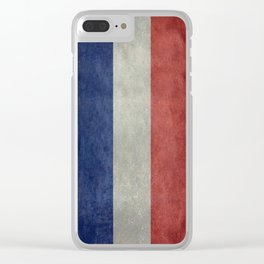 National Flag of France Clear iPhone Case