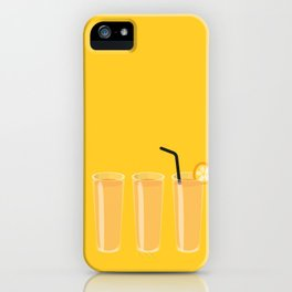 Orange juices iPhone Case
