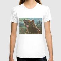 teddy bear T-shirts featuring TEDDY by Tina Yu