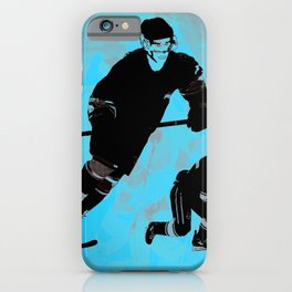 Game on! - Hockey Night iPhone Case