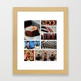 Rust ART Part II. Framed Art Print