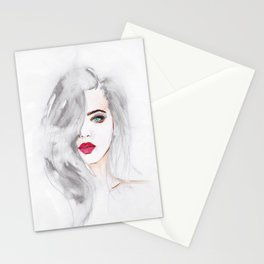Watercolor Beauty Stationery Cards