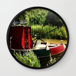 At Home on the Avon Wall Clock