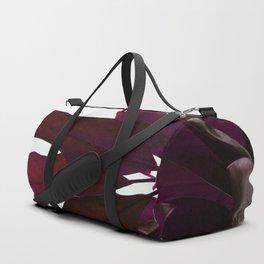 Crimson Red Duffle Bag