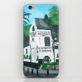 The Oldest Inn In England Acrylic Fine Art iPhone Skin