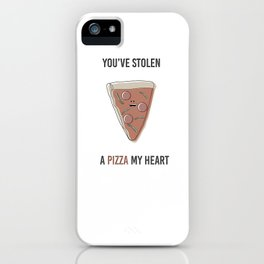 Pizza My Heart iPhone Case