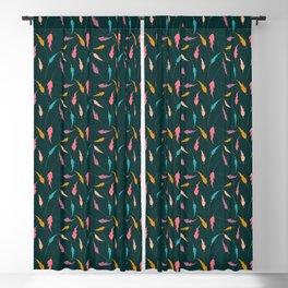Cute hippie Blackout Curtain