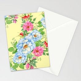 Vintage Floral Pattern No. 4 Stationery Cards