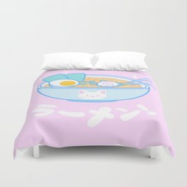 Cute Ramen Duvet Cover