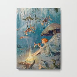 """The Enchantress"" by Margaret Tarrant Metal Print"