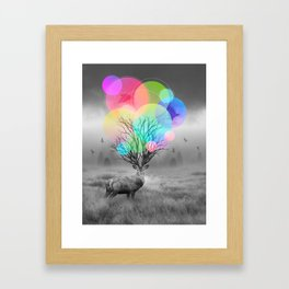 Calm Within the Chaos Framed Art Print
