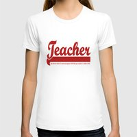 humor T-shirts featuring Teacher Humor by The Spunky Teaching Monkey- Teacher Stor
