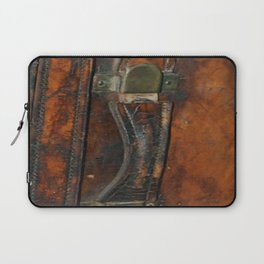 Steam-punk Vintage Steamer-trunk Handle Laptop Sleeve