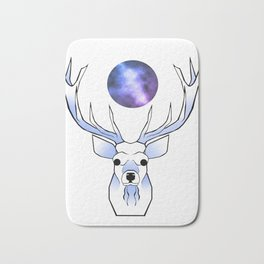 Galaxy Deer Bath Mat