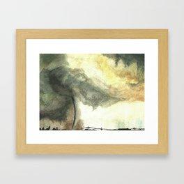 Tornado Framed Art Print