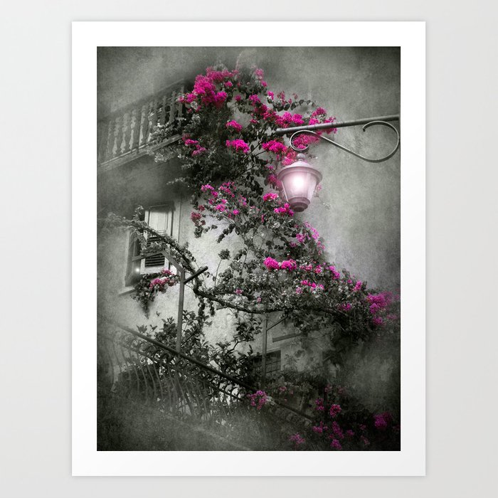 LIMONE - Lake Garda - Italy Art Print
