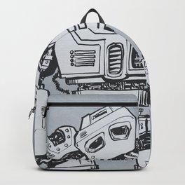 Melancholy Robot Backpack