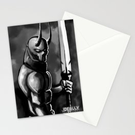 The Devel Blood Stationery Cards
