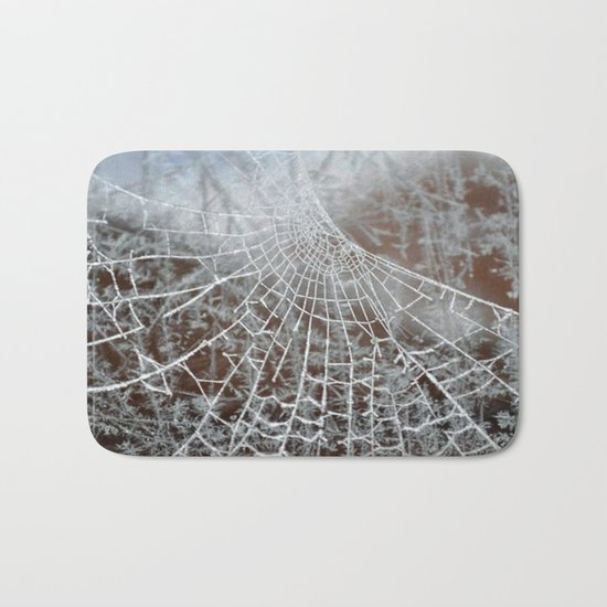 Snowed up Web  Bath Mat