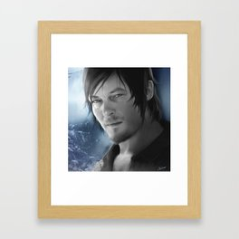 Daryl Dixon - The Walking Dead Framed Art Print