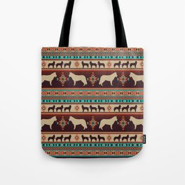 Boho dogs | Siberian Husky sunset Tote Bag