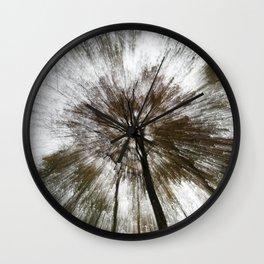 Tree Rays Wall Clock