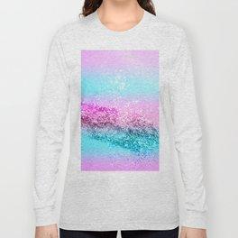 Unicorn Girls Glitter #16 #shiny #decor #art #society6 Long Sleeve T-shirt