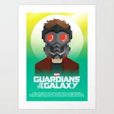 Guardians of the Galaxy - Star-Lord Art Print