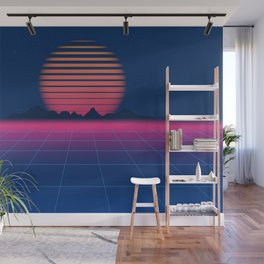 Sci-Fi and Fiction Background Wall Mural