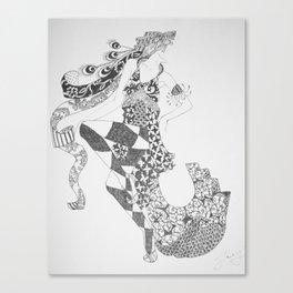Dancer Series - Ziegfeld Canvas Print
