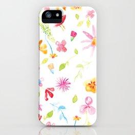 FLORINA PATTERN iPhone Case