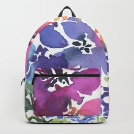 Pretty Poppy Patch Backpack