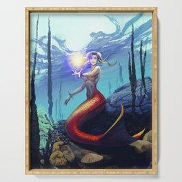 Mermaid Chun Li Serving Tray