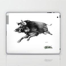 Running Boar Laptop & iPad Skin