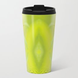 Zen Style Butterfly Over Calm Water Travel Mug