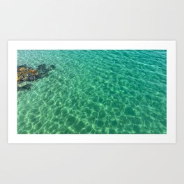 Egypt - Mediterranean Sea Art Print