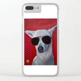 Sasha Fierce too Cool for School Clear iPhone Case
