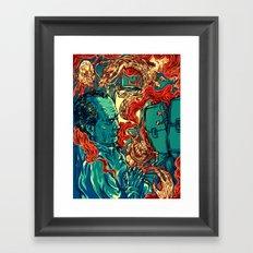 Colored Nightmares  Framed Art Print