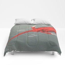 Elasmosaurus Muscle Study Comforters