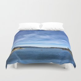 Big Bear Lake Duvet Cover