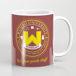 Wumbo University Coffee Mug