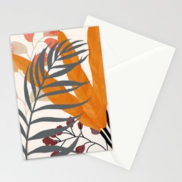 Colorful Red Leaves Stationery Cards