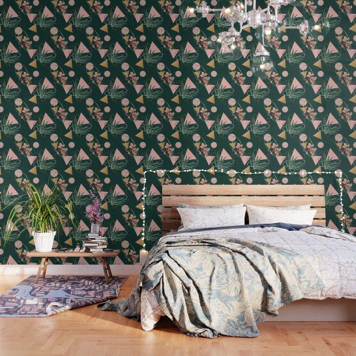 Succulents Atoms #society6 #decor #buyart Wallpaper