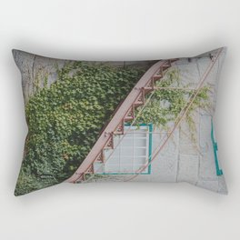 Up the Stairs Rectangular Pillow