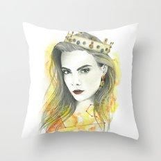 Zodiac - Leo Throw Pillow