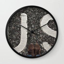 B-US-ES Wall Clock