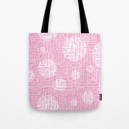 Pink Pens Tote Bag