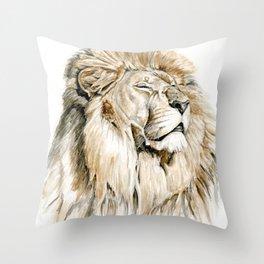 Sun King Throw Pillow